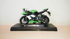 Kawasaki Ninja ZX-10R 2009 Motorbike Diecast Scale 1:18 NEW