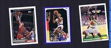 Shawn KEMP, Kevin JOHNSON & Will PERDUE 1992-94 - BASKETBALL CARD LOT #2
