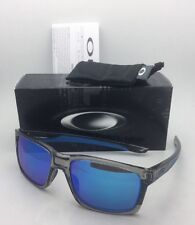New OAKLEY Sunglasses MAINLINK OO9264-03 Grey Ink-Blue Frame w/ Sapphire Iridium