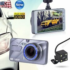 Dual Lens HD 1080P Car Video Recorder Camera Dash Cam DVR Night Vision G-sensor
