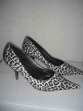 Damenschuhe,Pumps mit Leoparden-Munster, Größe 38