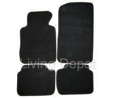 Fit For  99-05 BMW E46 3-Series Floor Mats Carpet Front & Rear Nylon Black 4PC