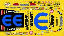 Dodge Avenger JEGS 2013 World Champion Pro Stock 1/24th - 1/25th Scale Decals