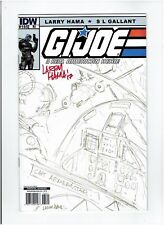 G.I. Joe: A Real American Hero Set signed Larry Hama Retailer Incentive Covers