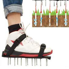 1 Paar Rasenbelüfter Sandalen Rasenlüfter Nagel Schuhe Garten Rasen Belüfter