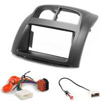 CARAV 11-270-36-4 Autoradio Radioblende ISO Set für Daihatsu Sirion SUBARU Justy