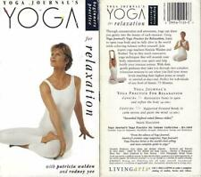 Yoga Journal's Yoga Practice for Relaxation VHS Patricia Walden