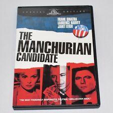 The Manchurian Candidate 1962 Political Thriller Frank Sinatra Janet Leigh DVD