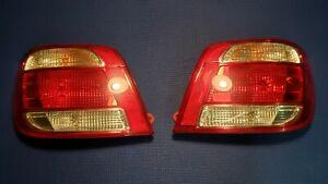 2005 - 2006 Saab 9-2X Aero Passenger & Driver Taillights OEM with Harness 92X