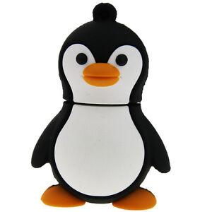 Cute Penguin bird animal 16GB USB 2.0 flash drive memory stick
