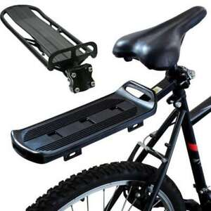 Rack Randonnée à Vélo VTT Porte-bagage Arrière Siège Support de Tablette Outil