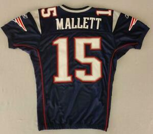 """Ryan Mallet 2011 New England Patriots Game Issued Reebok Home Jersey Sz 48"""" -2"""""""