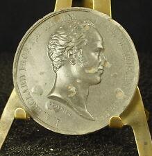 Médaille grès XIX Pierre-Augustin Béclard Prof d'anatimie f Peuvrier 41mm Medal