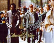 Autographed Movie 8X10 Photo *Unbreakable* Bruce Willis Samuel Jackson Reprint