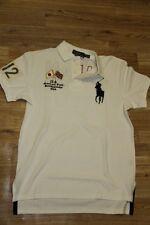 Ralph Lauren Men White Shirt JApan  Flag Big Pony L Large Custom-Fit RL Olympic