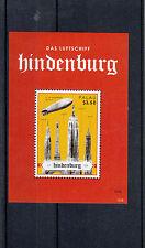 Palau 2013 MNH Hindenburg Disaster 1v Sheet Das Luftshiff Aviation Zeppelin