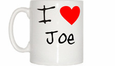 I Love Heart Joe Mug