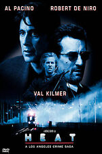 Heat (DVD, 1999, Widescreen, Al Pacino, Robert DeNiro, Val Kilmer, Jon Voight)