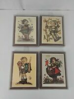 lot of 4 Hummel Plaque girl boy,ARS,AG,Zug,Switzerland