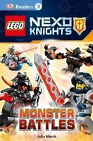 Lego Nexo Knights: Monster Battles (DK Readers: Level 3), March, Julia, Very Goo