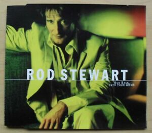 ROD STEWART RUN BACK INTO YOUR ARMS CD SINGLE ONE TRACK PROMO GERMAN