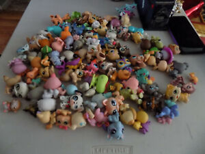 Lot Of Littlest Pet Shop LPS 100 Figures With Case,Minis and More