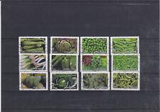 Lot série timbre france adhésif complète flore légume 2012