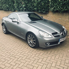 High Spec Mercedes-Benz SLK 200 Sports Kompressor Roadster in Palladium Silver