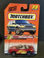 1998 Matchbox Street Cruisers Series 73/75 Mustang Cobra