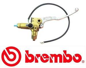 Brembo 16mm Silver Lever Gold Body Front Brake Master Cylinder 10505312