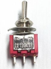 MINI TOGGLE SPDT ON OFF ON  SWITCH 6A 6 A AMP 10pcs