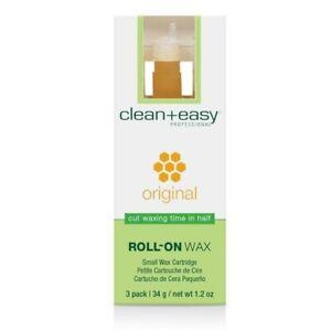 Clean+ Easy Roller Original Wax Small Refill (3pk)