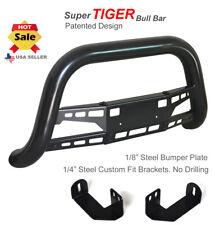 Super Tiger Bull Bar Fits 98 04 Toyota Tacoma 96 98 4runner Black Powdercoated Fits 1998 Tacoma