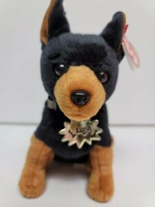 """Ty Beanie Babies-Luca The Dog-MWMT-Garfield The Movie With Golden Name Tag-6"""""""