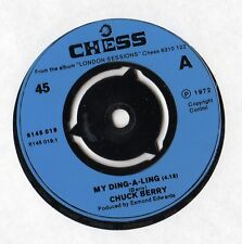 """Chuck Berry - My Ding A Ling 7"""" Single 1972"""