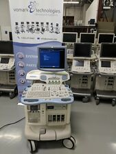 GE VIVID 7 BT 08  ULTRASOUND SYSTEM WITH M3S & 9L PROBES