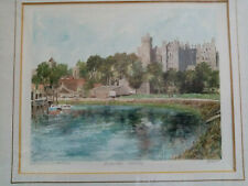 Philip Martin Mounted Print ARUNDEL CASTLE Signed Limited Edition Ed 250/850