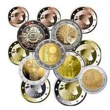 Euros Estonie série et commemorative
