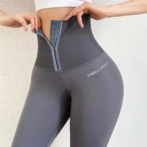 High Waist Hot Yoga Pant For Women Tights Sports Gym Running Leggings