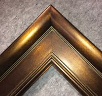 """4.75"""" WIDE Plein Air Bronze Oil Painting Picture Frame frames4art 20MG"""
