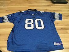 Detroit Lions Charles Rogers 80 XXL Jersey NFL Authentic Football
