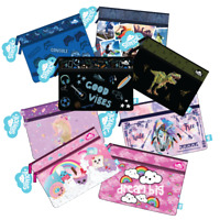 SPENCIL 'A4 PENCIL CASES' 25x34cm (Choose from 13 designs) School New 2020 Stock