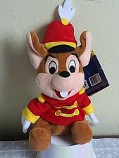 New listing 1998 Disney Wdcc Dumbo Timothy Mouse Bean Bag Plush Stuffed Animal New W/Tags