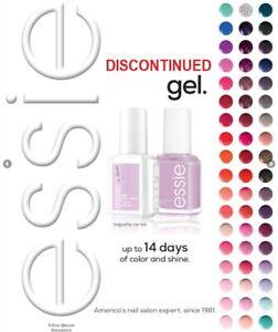 Essie Soak Off Gel Polish Discontinued 0.42 oz. *Pick Your Colors*