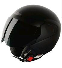 Nitro NGJP UNO Open Face Scooter Motorbike Motorcycle Helmet Satin Black M
