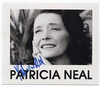 Patricia Neal Signed Photo Autographed Vintage AUTO Signature