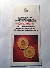 1867-1967 Canada's Centennial Confederation Travel Brochure Shell