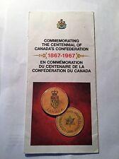 1867-1967 Canada's Centennial Confederation Travel Brochure Shell