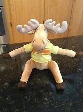 MerryMakers Z Is For Moose Plush Doll 2012 Kelly Bingham Paul Zelinsky Stuffed