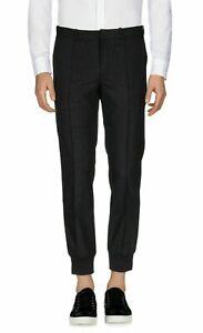 NEW €155 KIEFERMANN Cuffed Trousers Engineered Wool Mix Garment Seam Front M